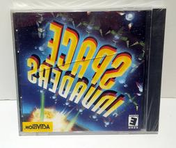 SEALED! Space Invaders Game PC 1999 Classic CD-Rom Windows 9