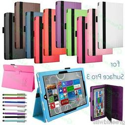 Slim Fit 12 inch Microsoft Windows Surface PRO 3 Stand Case