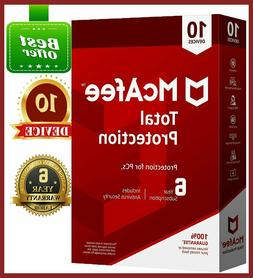 McAfee Total Protection 2019 Antivirus 🔥 10 Device 5 Year