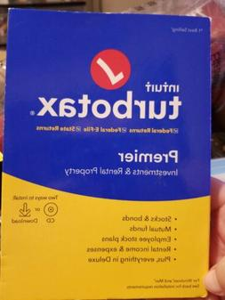 Intuit TurboTax Premier 2019 Federal with State E-file for W