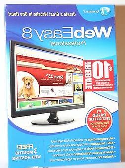 Avanquest WebEasy 8 Professional - Full Version for Windows