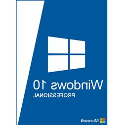 WINDOW 10 PRO  LICENSE  PRODUCT FAST SHIP