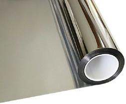 Window Tint One Way Mirror Film UV Heat Reflective Home Offi