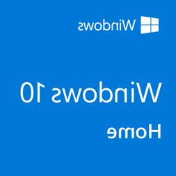 Microsoft Windows 10 Home 64 Installation USB drive With Ins