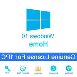 Windows 10 Home Activation Key And Download Link Genuine For