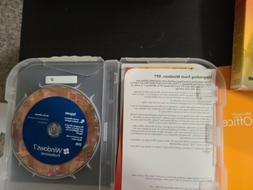Windows 7 PRO Professional  install disk with key