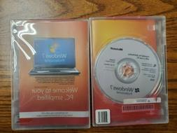 Windows 7 PRO Professional  install disk.  Use your existing