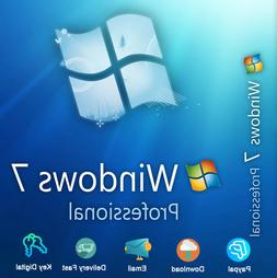 Windows 7 Professional 32/64bit Download Product For 1 PC Ge