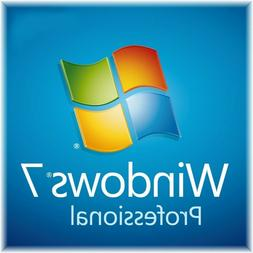 Windows 7 Professional Recovery Disc - Install Repair Restor