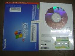 MICROSOFT WINDOWS XP PROFESSIONAL w/SP2 FULL OPERATING SYSTE